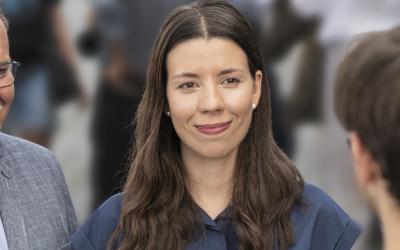 Kateřina Stojanová vpředvolební debatě